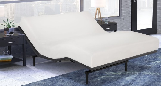 Raven Adjustable Bed with Mattress