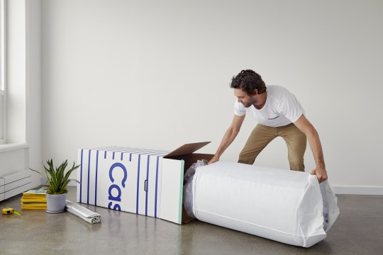 Casper Mattress Unboxing