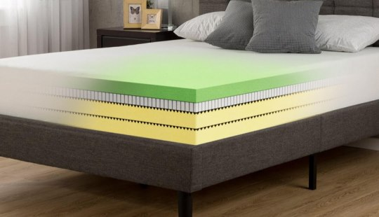 Green Tea Mattress side view